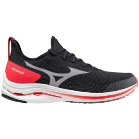 Mizuno Wave Rider Neo Shoes Men, black/white/ignition red